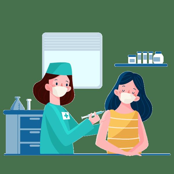 تزریقات بیمار در منزل
