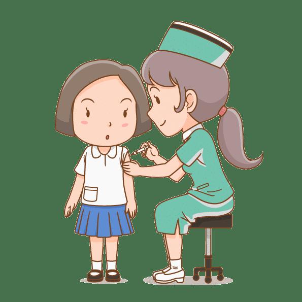 تزریق واکسن کودک در منزل